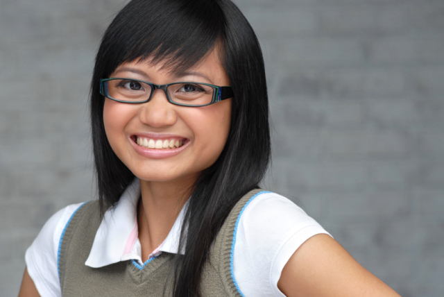 Joy Regullano is an actor that can play the asian best friend