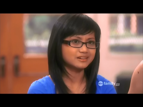 "Joy Regullano as ""second girl"" on ABC Family's TV show, SECRET LIFE OF THE AMERICAN TEENAGER"